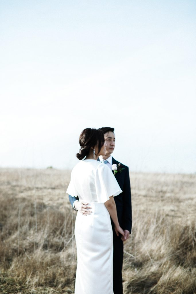 Quail Hill Trail and Shaw's Cove Elopement and Engagement Photos by Boston, MA and Los Angeles, CA Socal Modern and Minimalist Wedding Photographer