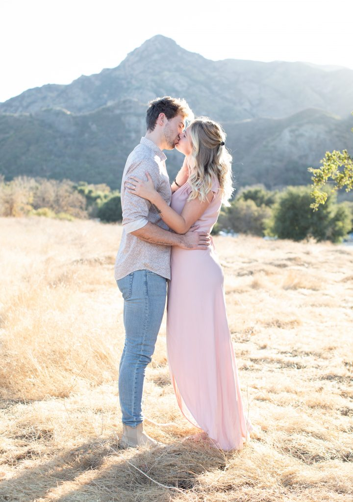 Malibu Creek State Park Elopement and Engagement Photos by Boston, MA and Los Angeles, CA Socal Modern and Minimalist Wedding Photographer