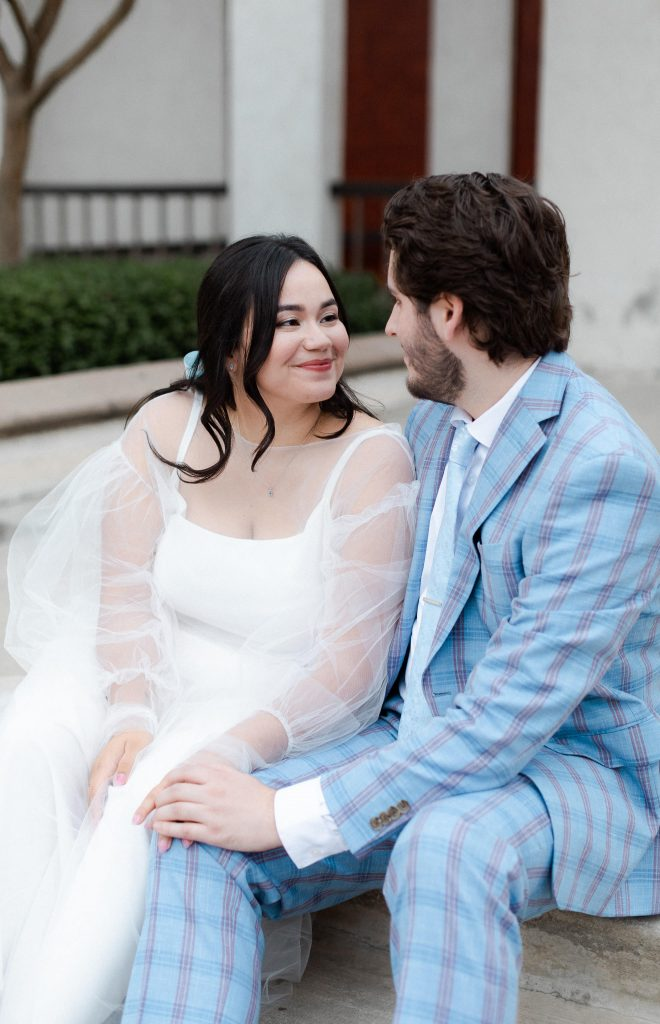 Intimate and Quirky Socal Los Angeles Wedding Azusa City Hall Micro-wedding by Boston, MA and Los Angeles, CA Modern and Minimalist Wedding Photographer